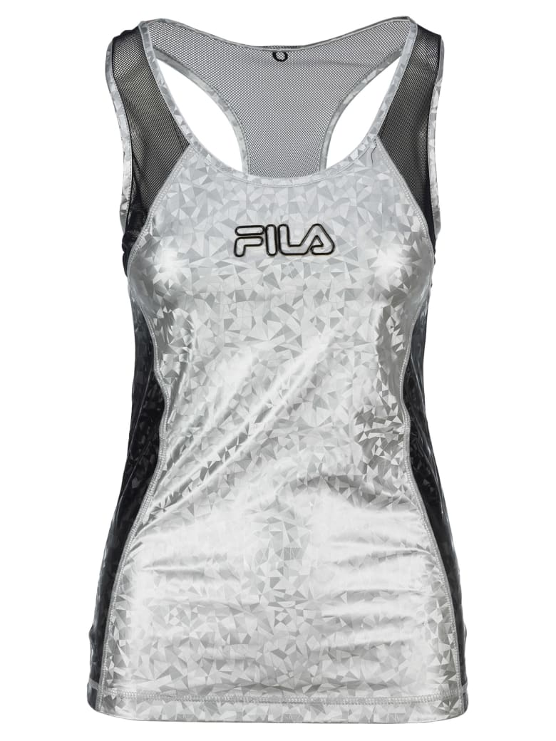 Fila Tech Tank Top - SILVER