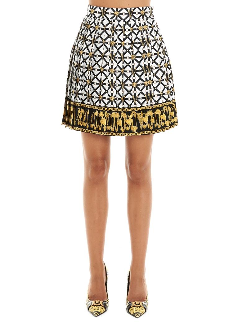 Versace 'belts Meduse' Skirt - Multicolor