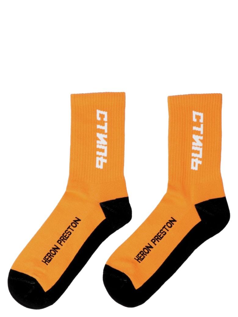 HERON PRESTON Socks - Orange