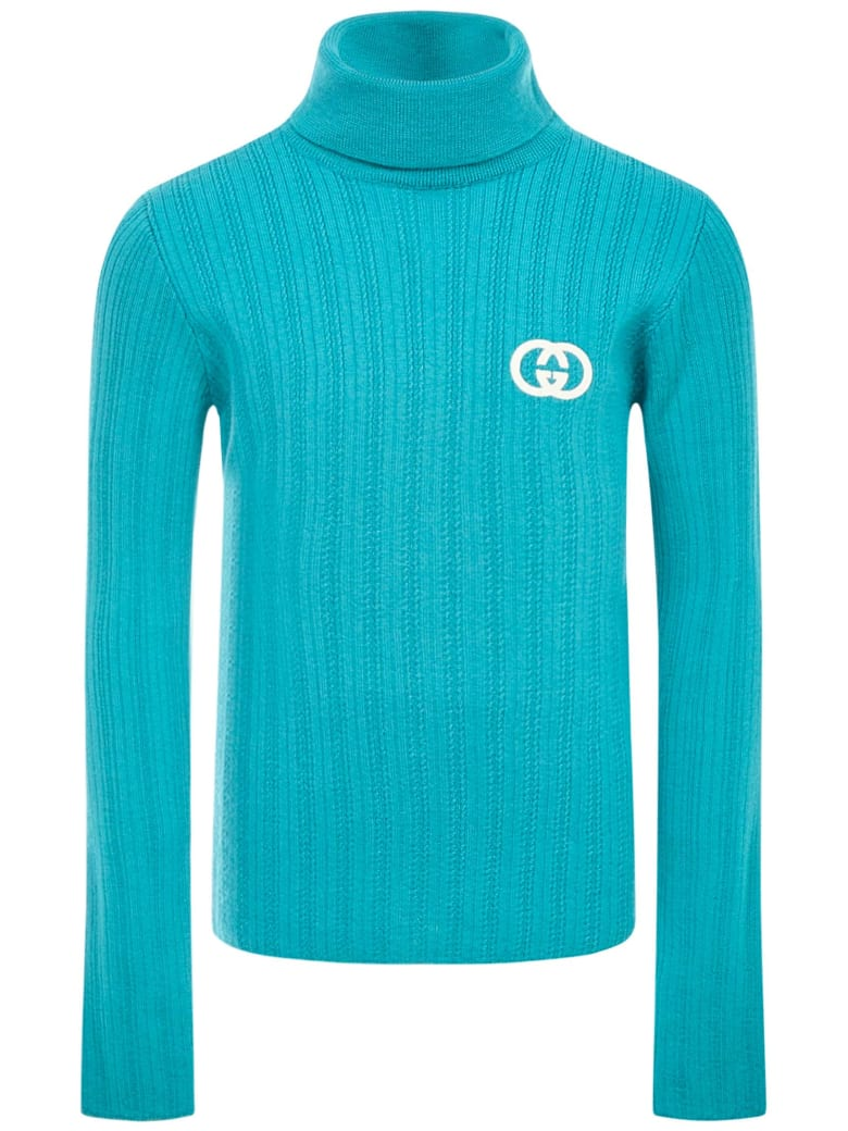 Gucci Junior Sweater - Light blue