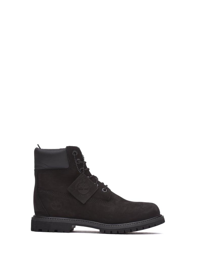Timberland Black Nabuk Ankle Boots - NERO