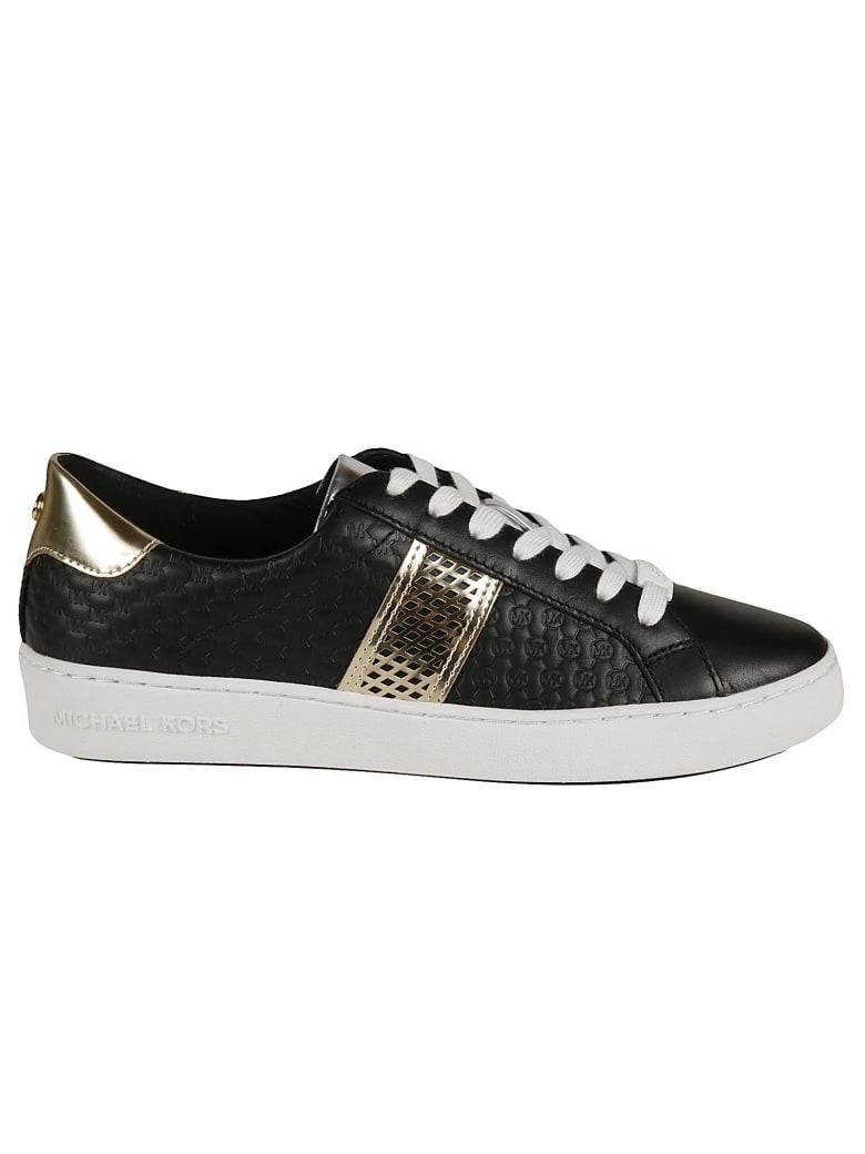 Michael Kors Irving Stripe Lace-up Sneakers - Black