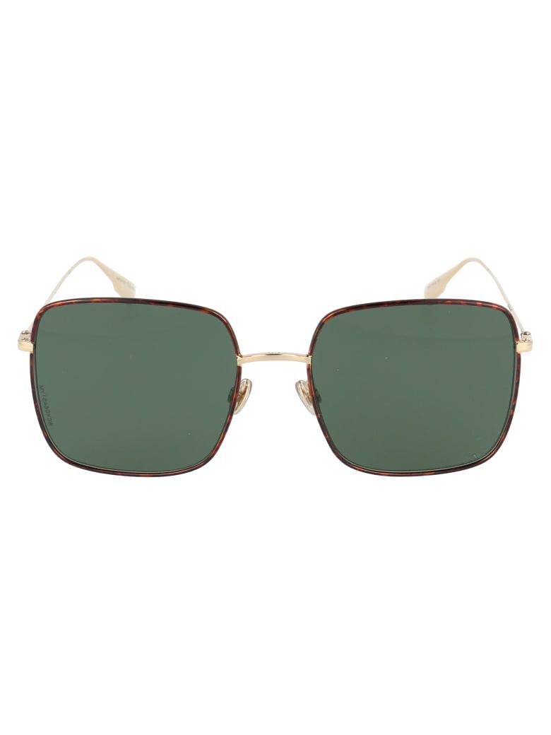 Dior Stellaire1xs Sunglasses - 06JO7 GOLD HAVN