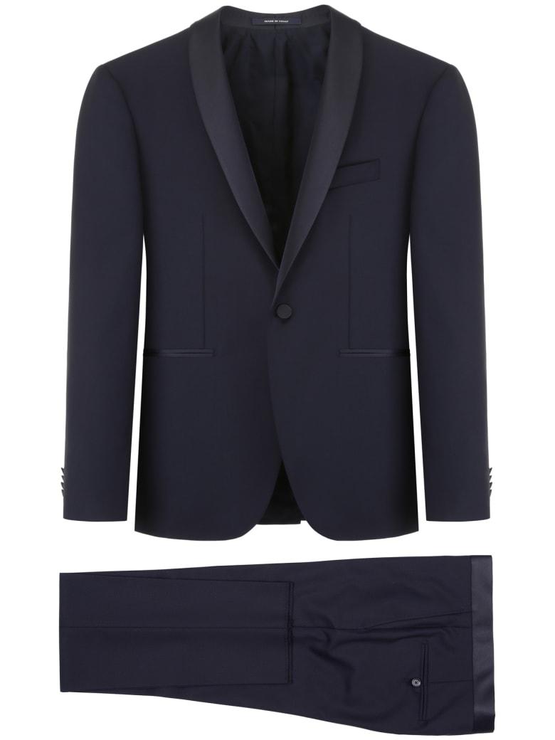 Tagliatore Bruce Two-piece Suit - NAVY (Blue)