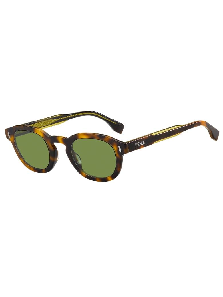 Fendi FF M0100/G/S Sunglasses - Hjv/qt Hvn Ylw
