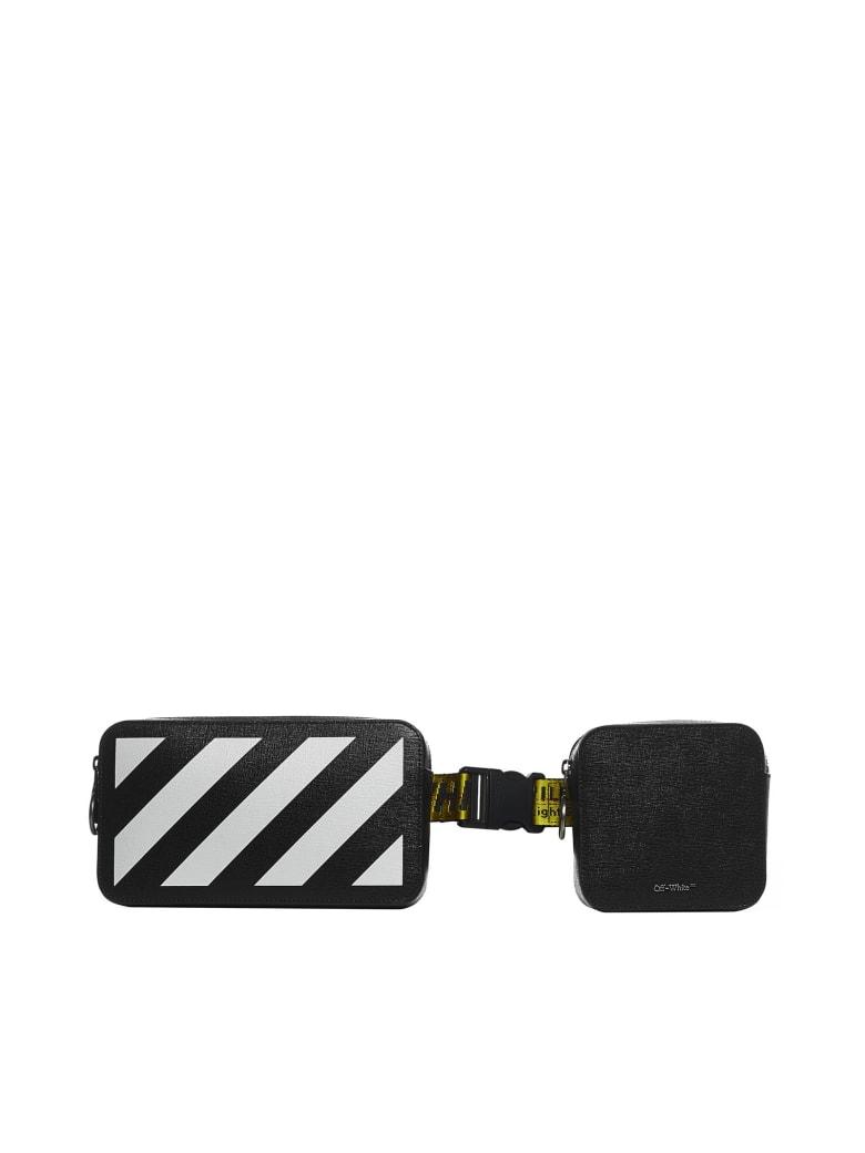 Off-White Belt Bag - Black white