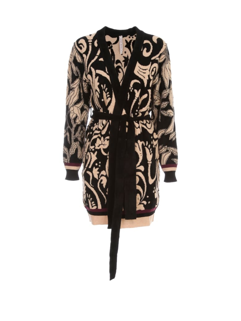 Antonio Marras Long Reversible Cardigan Gothic Fantasy - Nero