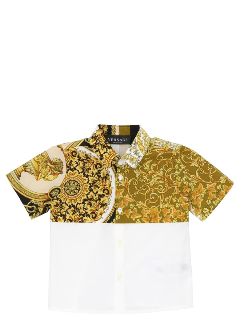 Young Versace 'barocco' Shirt - Multicolor