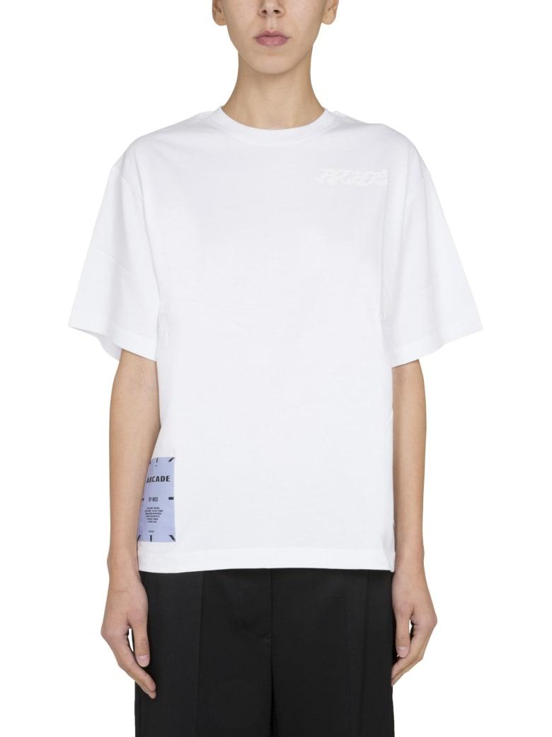 McQ Alexander McQueen Relaxed Fit T-shirt - BIANCO