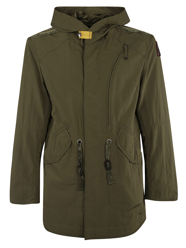 Parajumpers Drawstring-waist Hooded Jacket - Military