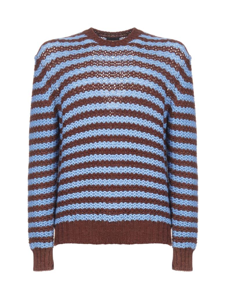 Prada Sweater - Tabacco celeste