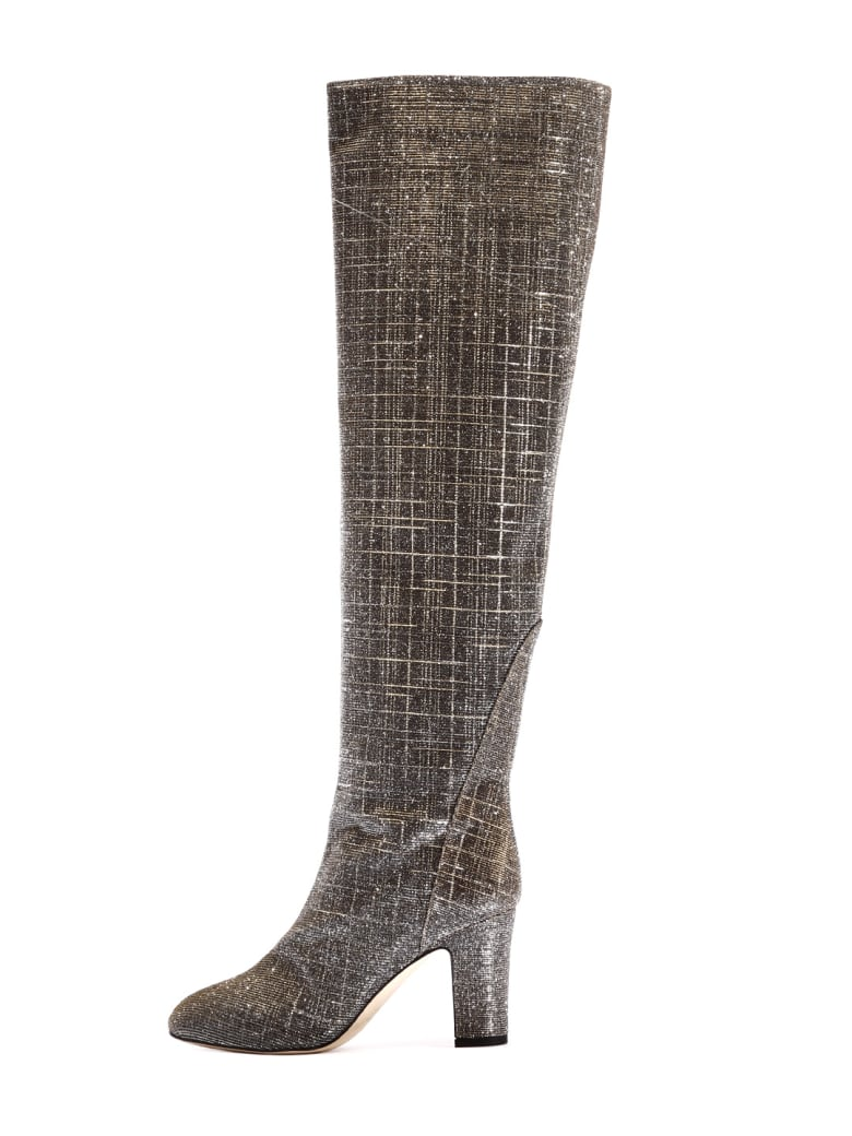 GIA COUTURE High Boot Silver/gold - Silver