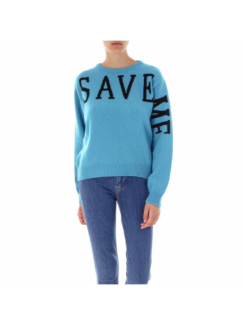 Alberta Ferretti Love Me Collection Sweater - Blue