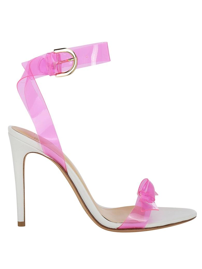 Alexandre Birman Clarita Open Pumps - Pink/fluor/white