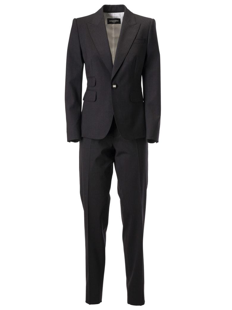 Dsquared2 Single Breasted Suit - Grigio scuro