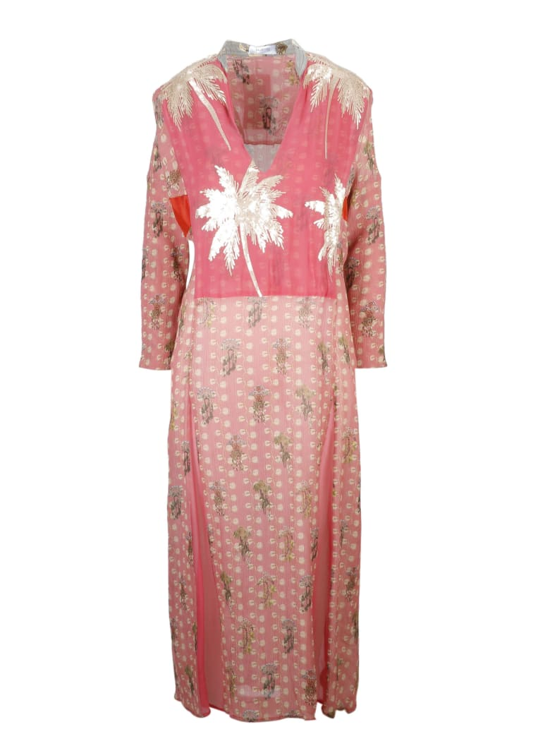 Ailanto Dress - Pink & Purple