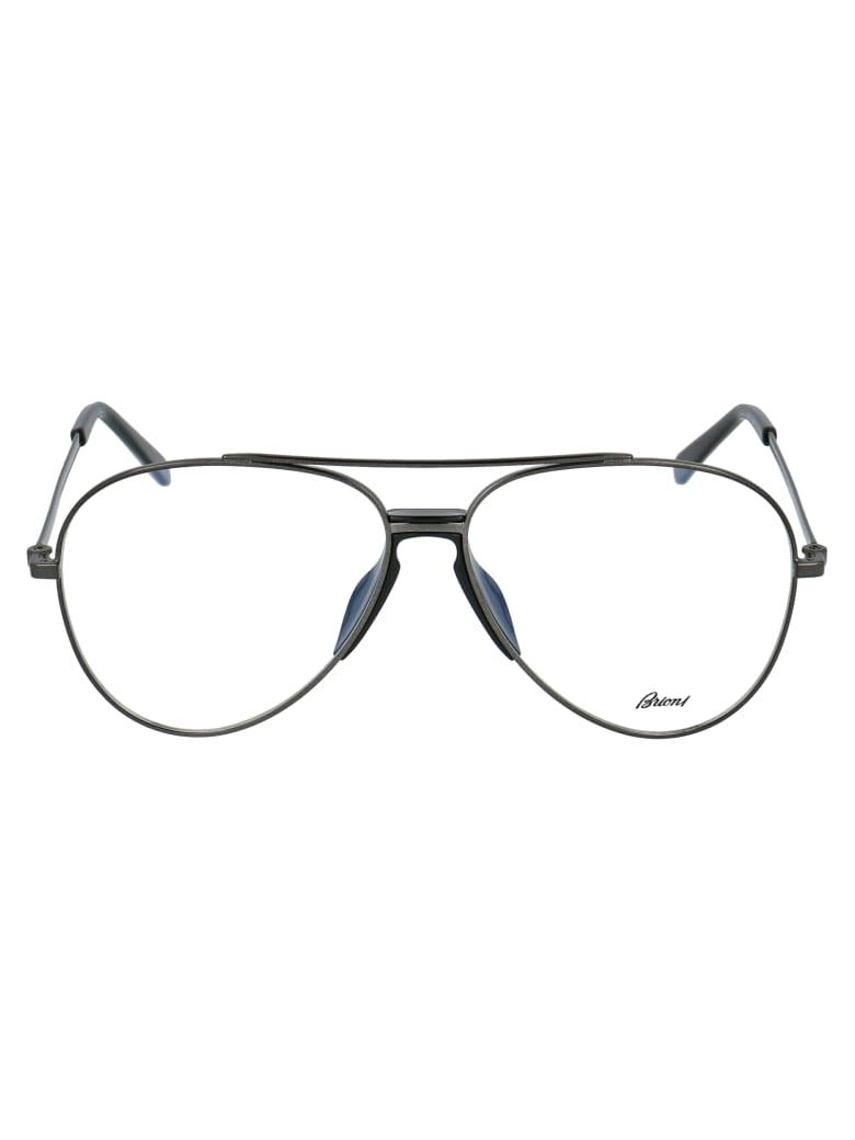 Brioni Eyewear - Black Black Transparent
