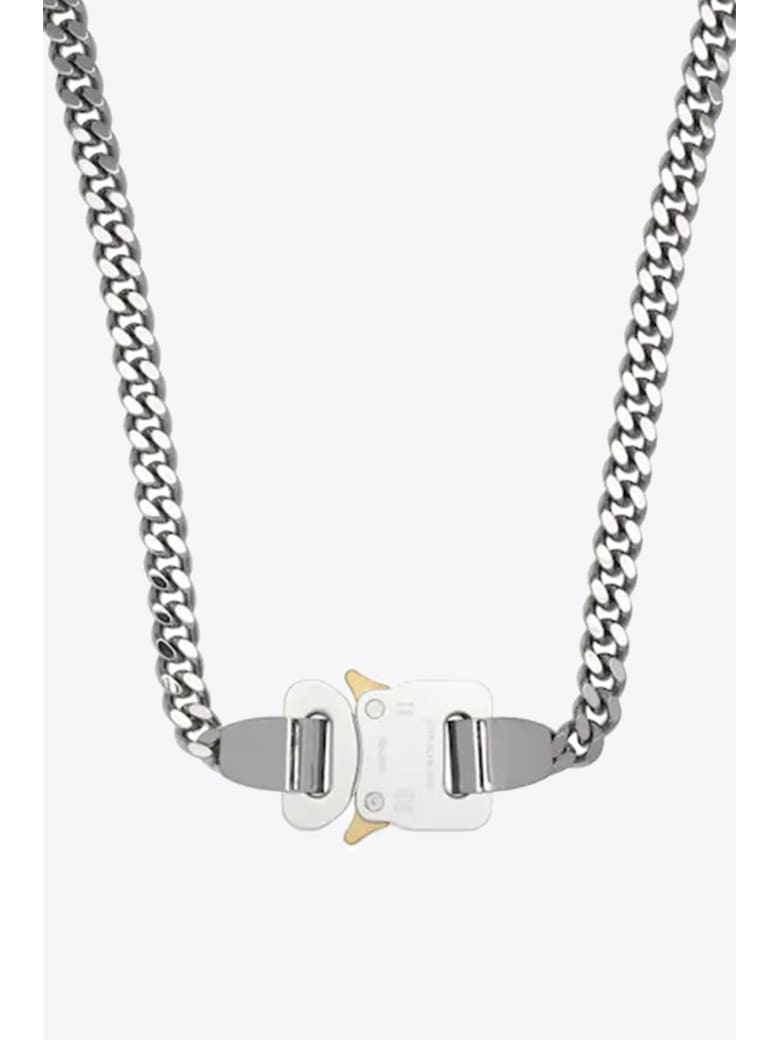 1017 ALYX 9SM Buckle Necklace - Argento