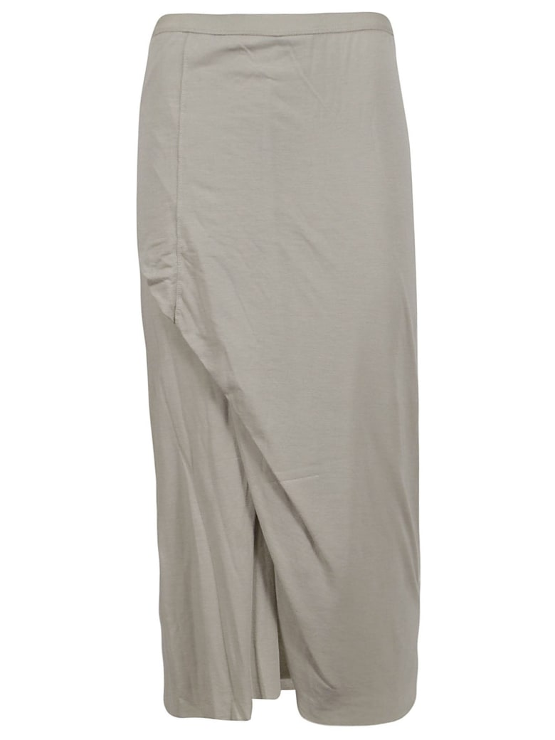 Rick Owens Lilies Wrap Style Skirt - Pearl