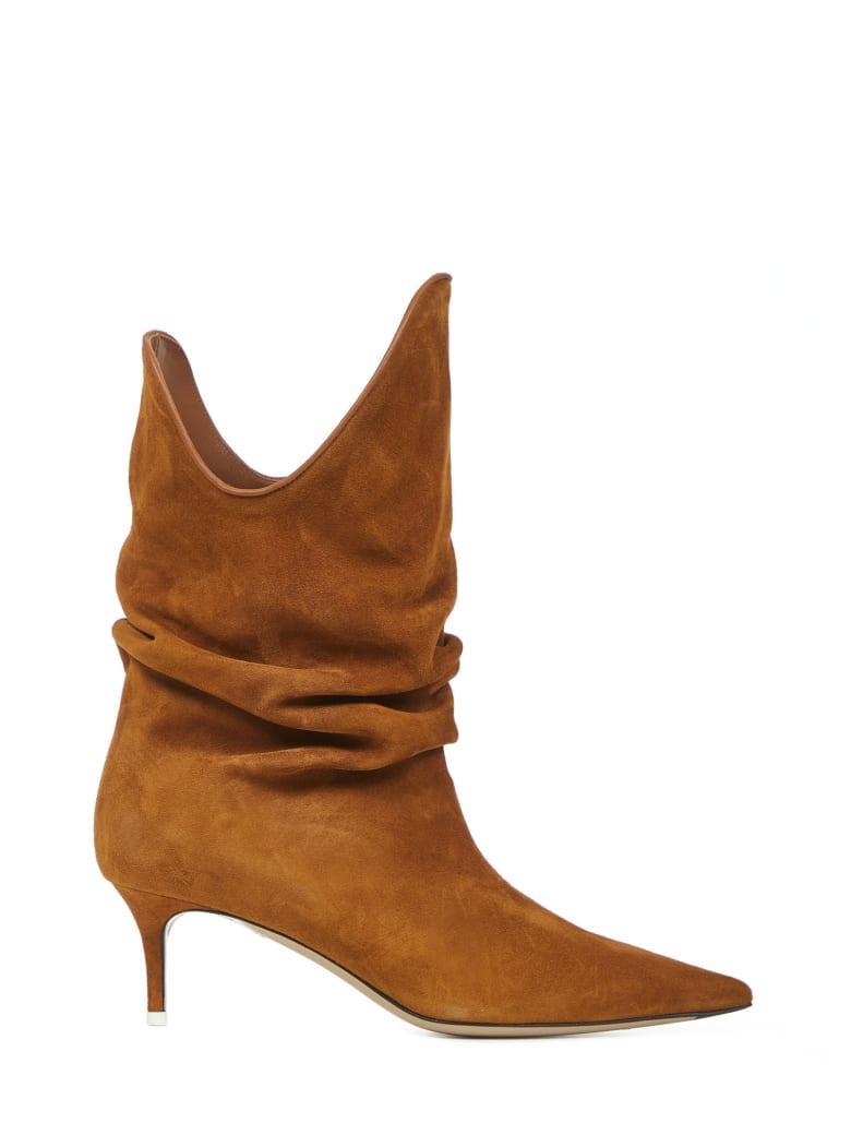 The Attico Tate Boots - Camel