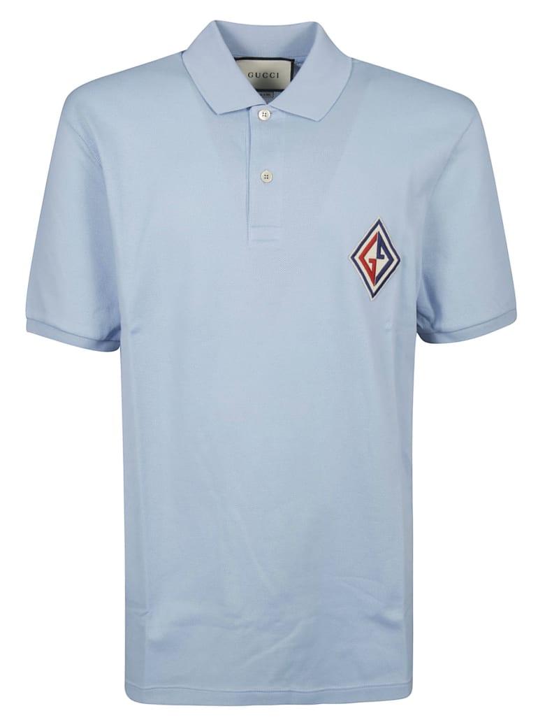 Gucci Gg Polo Shirt - Cielo