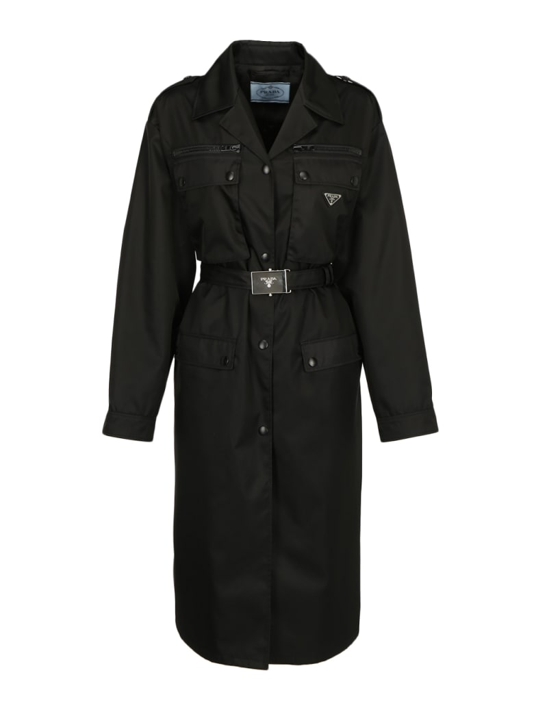 Prada Trench Coat - Nero