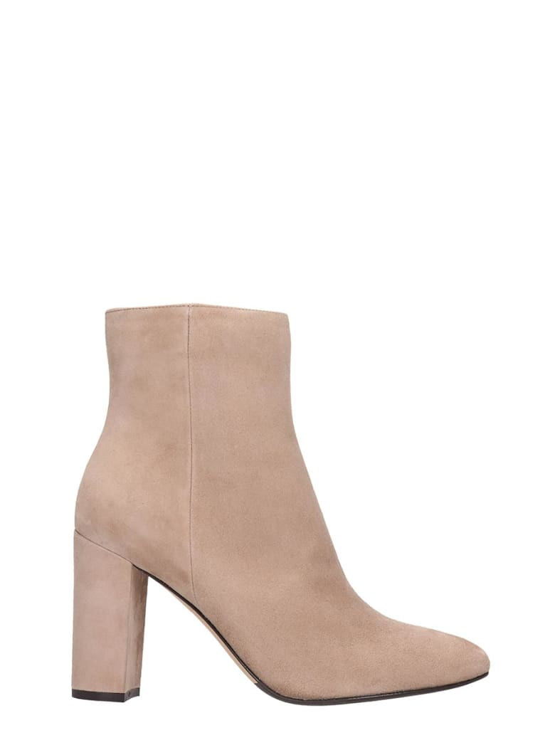 The Seller Ankle Boots In Powder Suede - powder