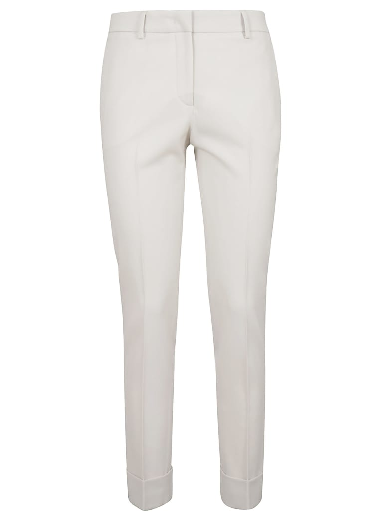 QL2 Slim Fit Trousers - Natural