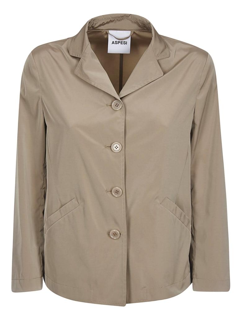 Aspesi Buttoned Jacket - Brown