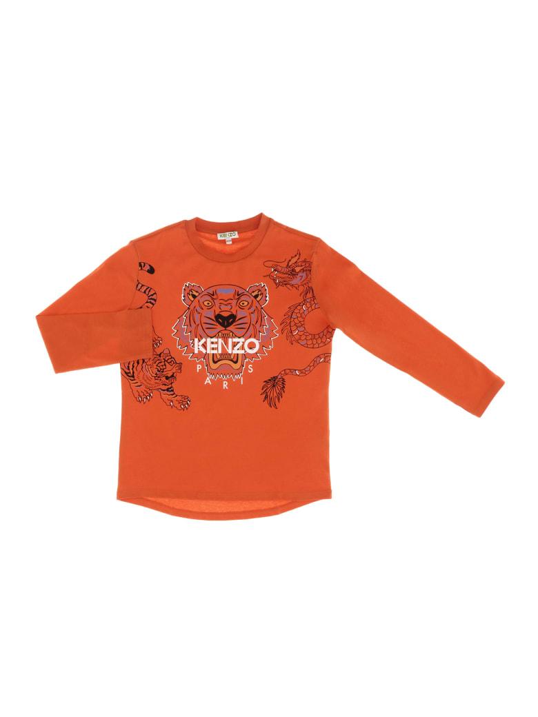 Kenzo Tiger Jb 2 T-shirt - Arancio