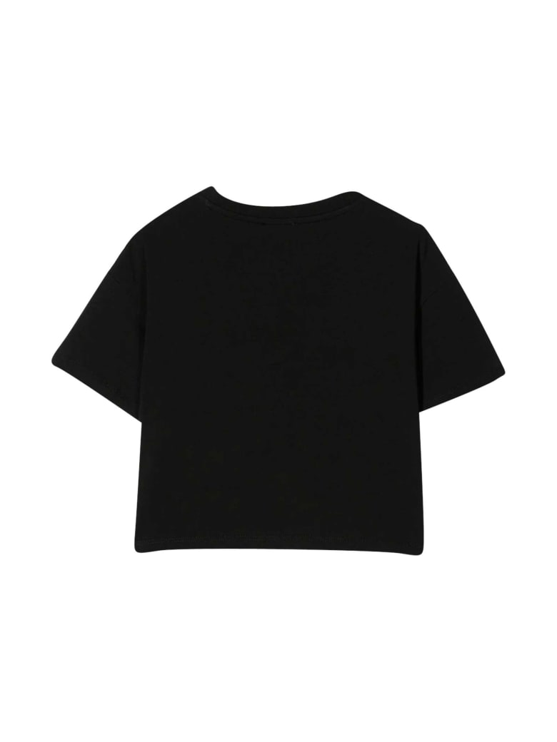 Moschino Black Teen T-shirt With Toy Print - Nero