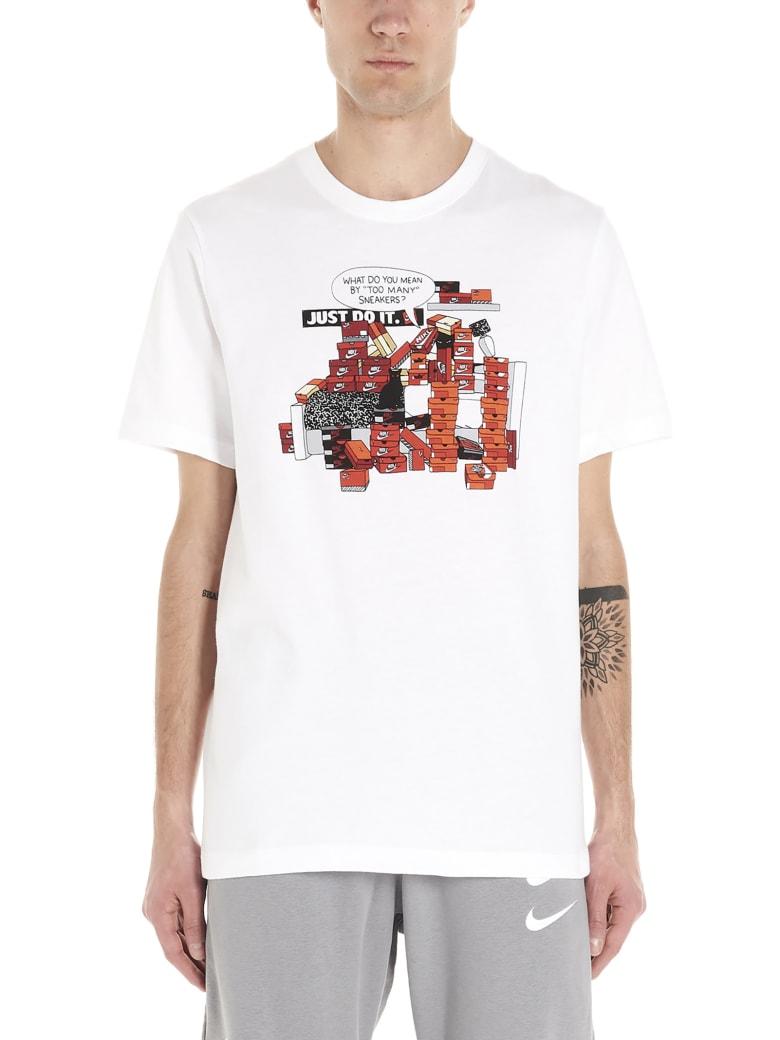 Nike 'snkr Crtl 7' T-shirt - White