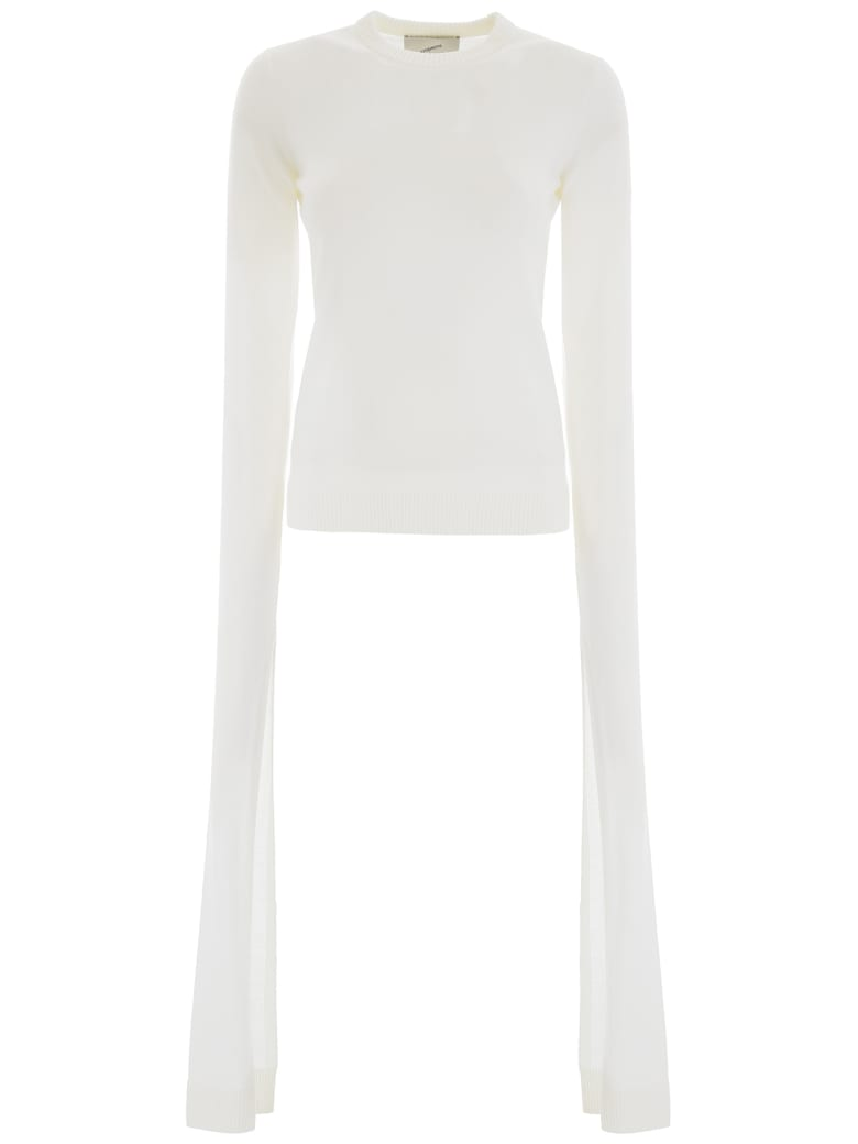 Coperni Long-sleeved Pullover - OPTIC WHITE (White)