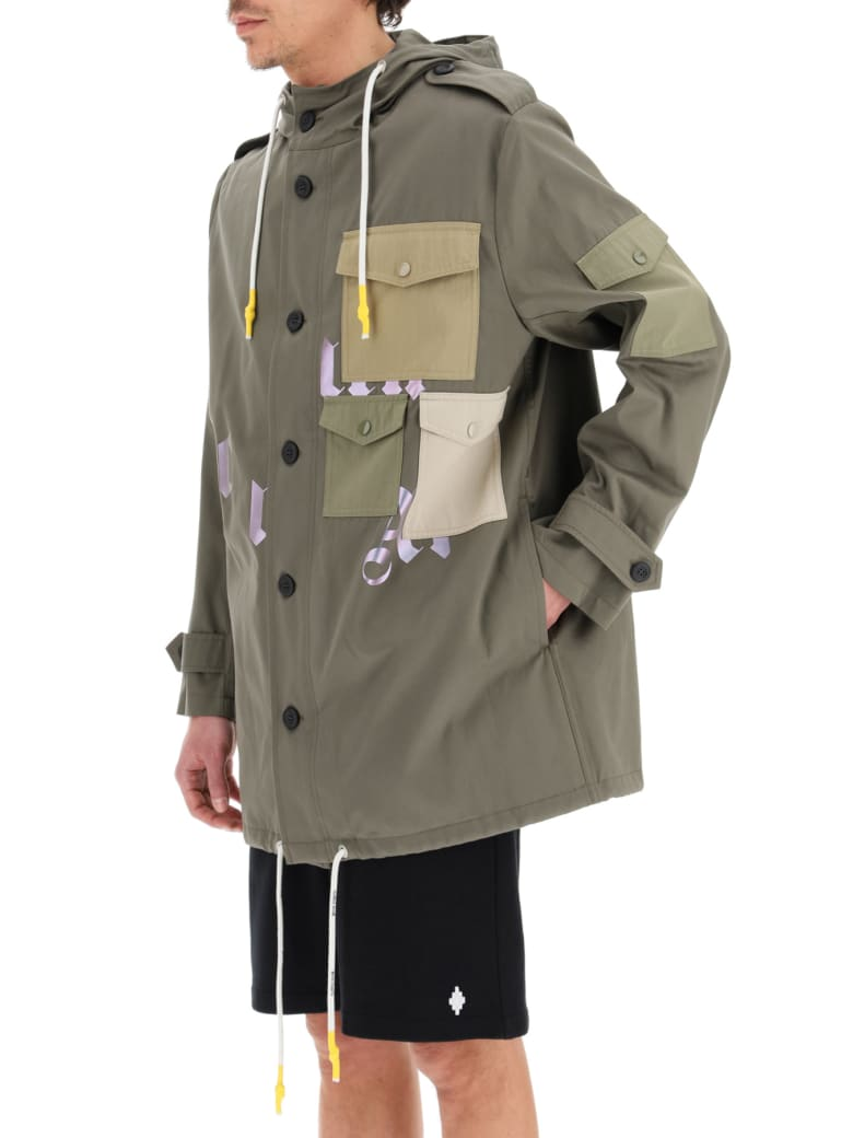 Palm Angels Military Parka - Green