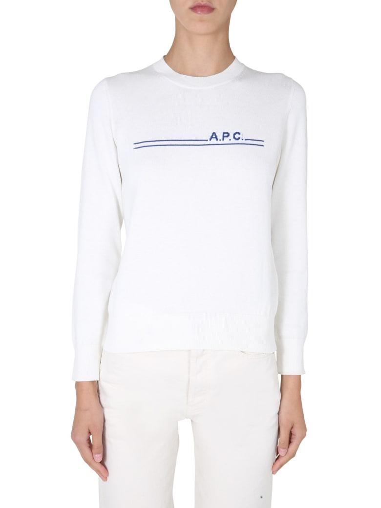 A.P.C. Eponyme Sweater - BIANCO