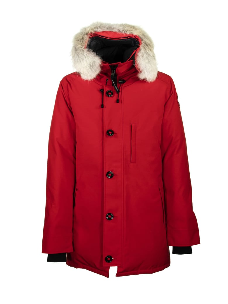 Canada Goose Chateau Parka Red Jacket - Red Maple