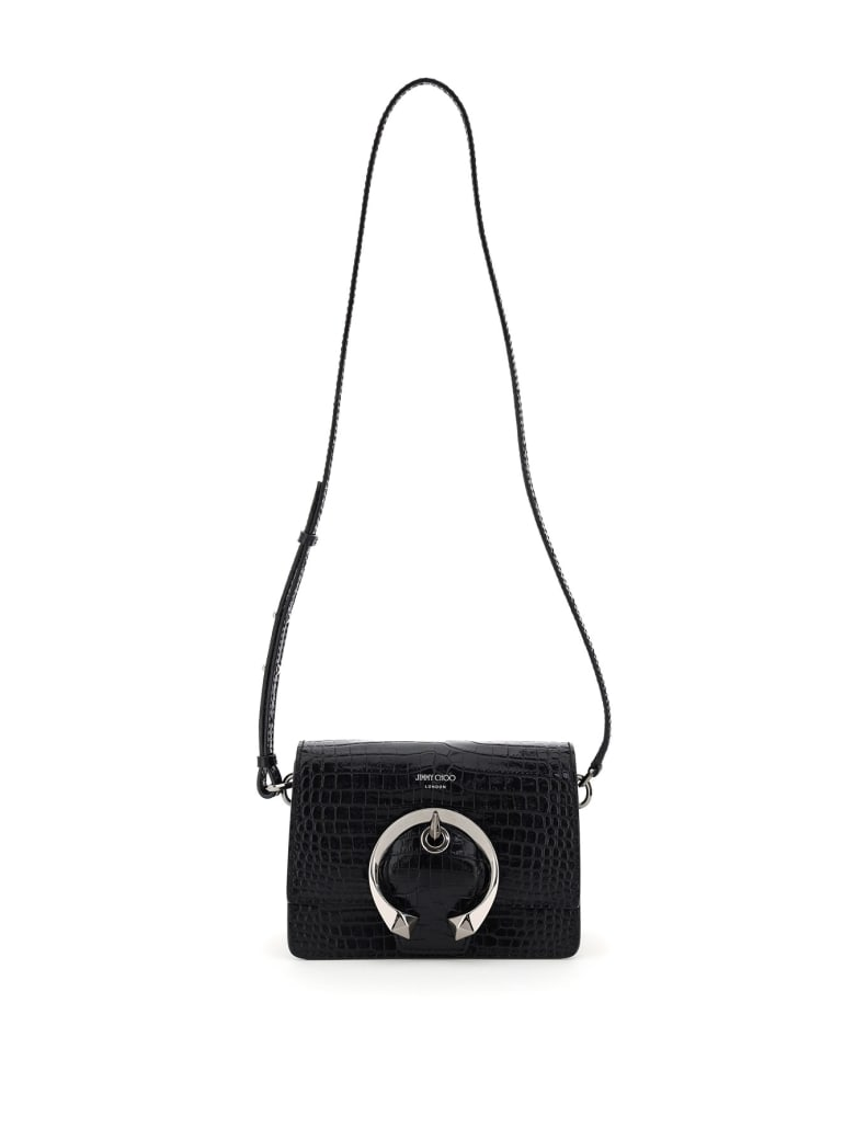 Jimmy Choo Madeline Small Shoulder Bag - BLACK (Black)