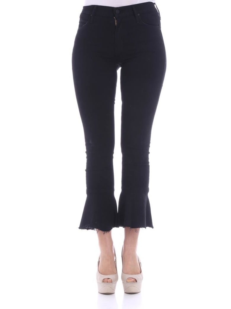 Mother - Cha Cha Fray Jeans - Black