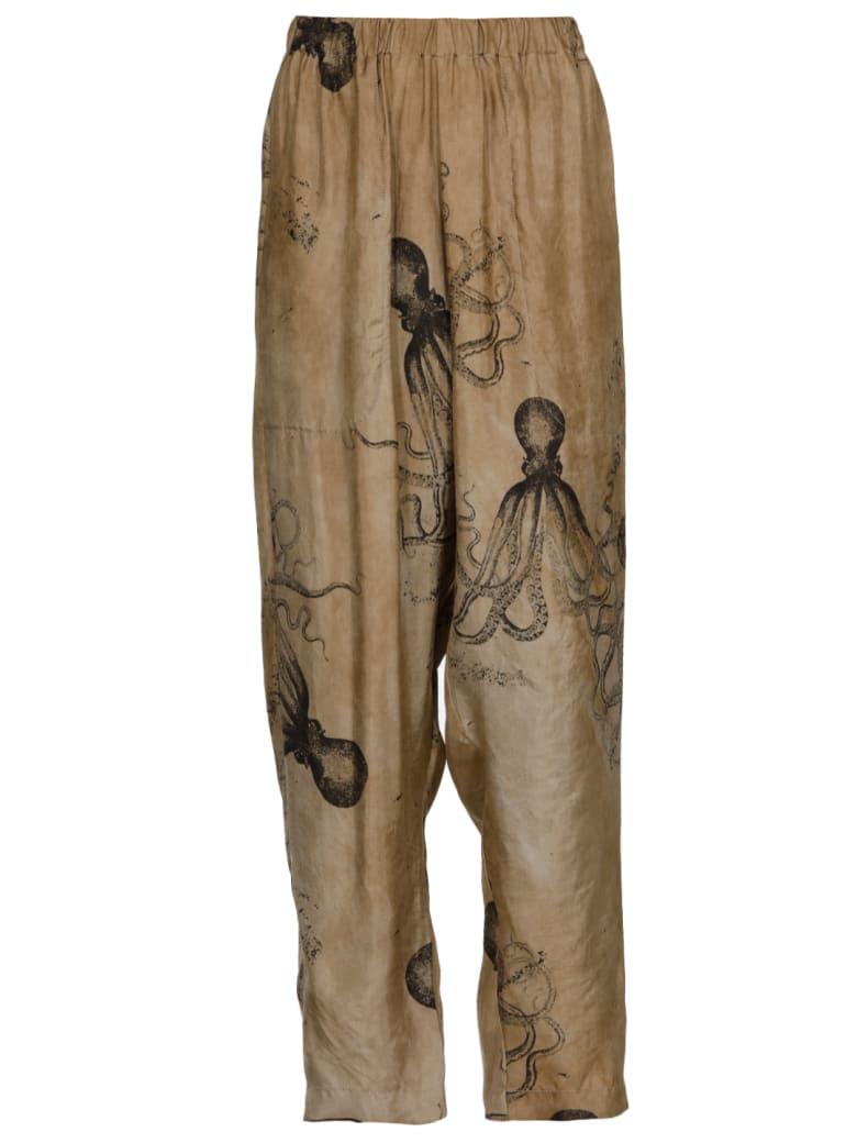 Uma Wang Palmer Pants - Lightgrey/black