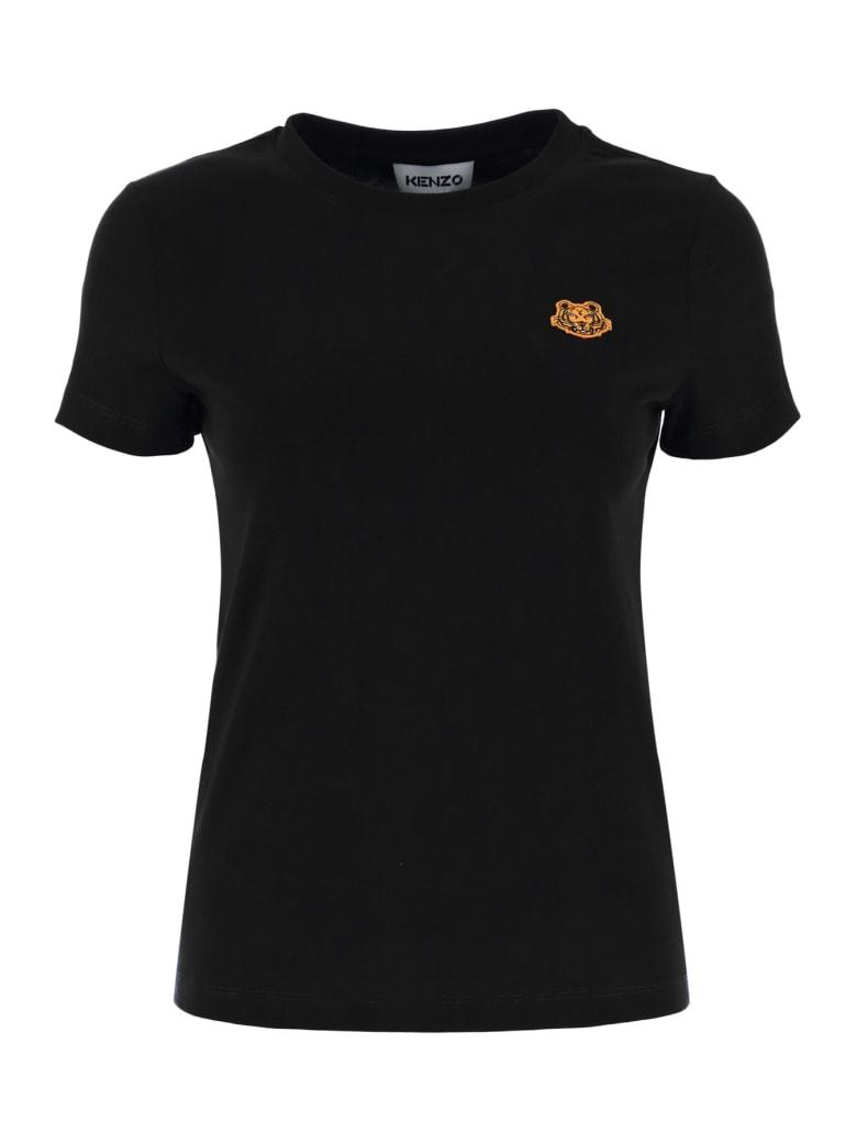 Kenzo Tiger Patch T-shirt - Nero