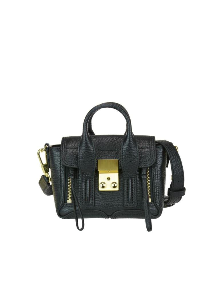 3.1 Phillip Lim Pashli Nano Satchel Bag - Black