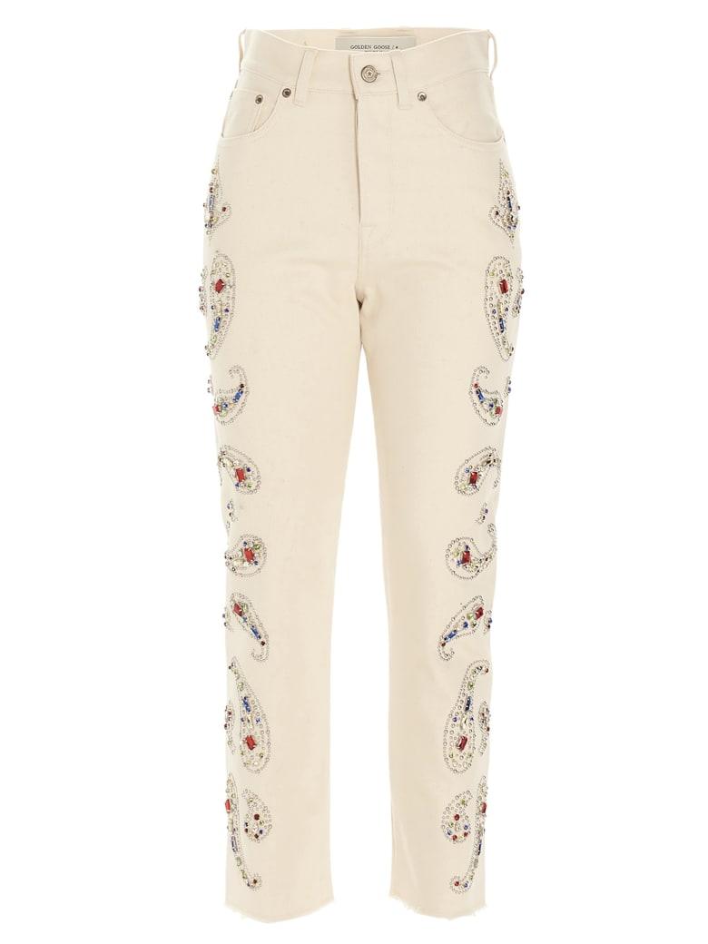 Golden Goose Jeans - Beige
