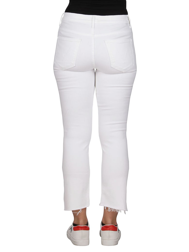 Mother White Cotton Jeans - FAIREST OF THEM ALL
