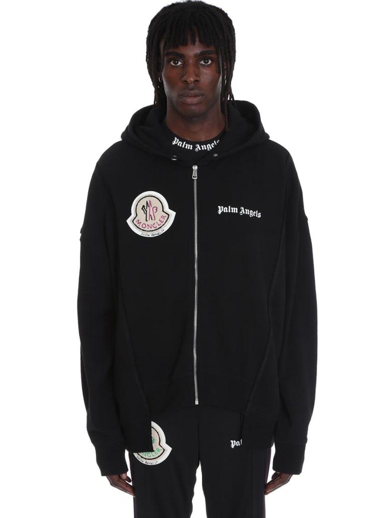 ec0b6b4cf Moncler X Palm Angels Sweatshirt In Black Cotton