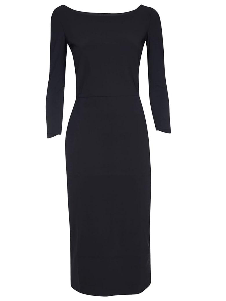 La Petit Robe Di Chiara Boni Thayna Tris Dress - Black