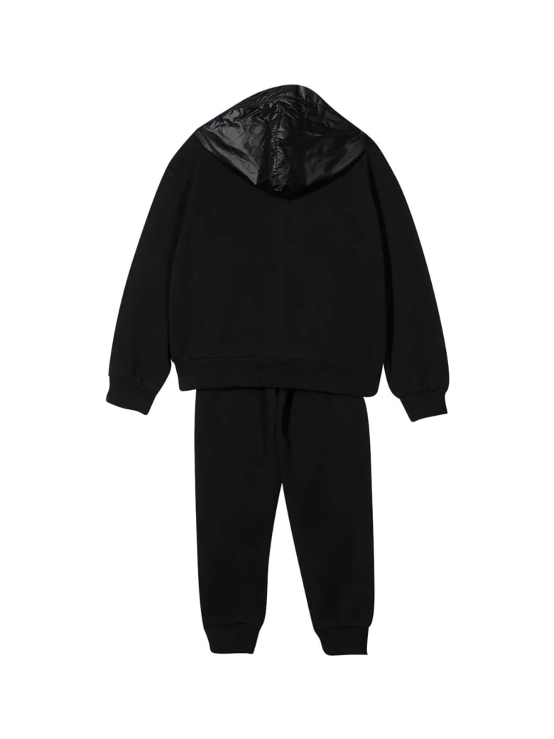 Moschino 2-piece Sports Teen Suit - Nero