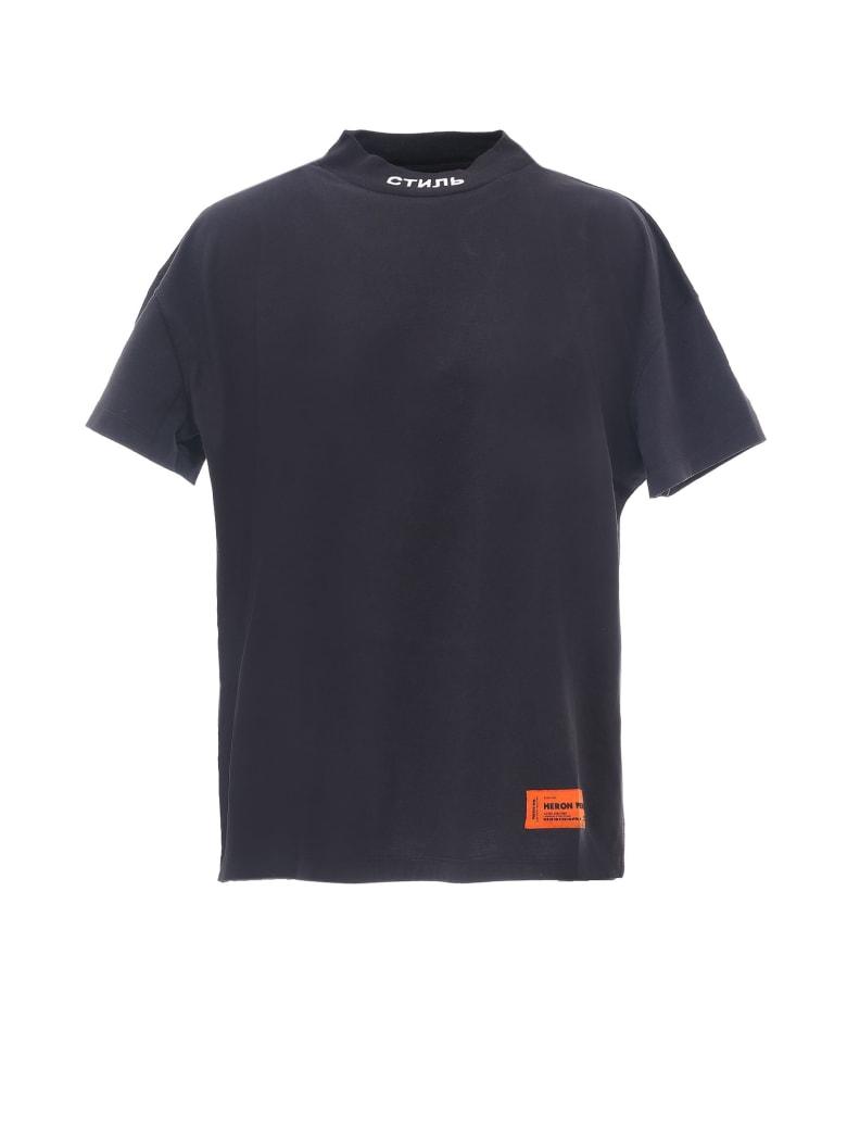 HERON PRESTON T-shirt - Black