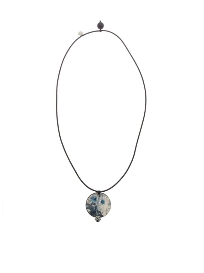 Maria Calderara - Necklace - Blue