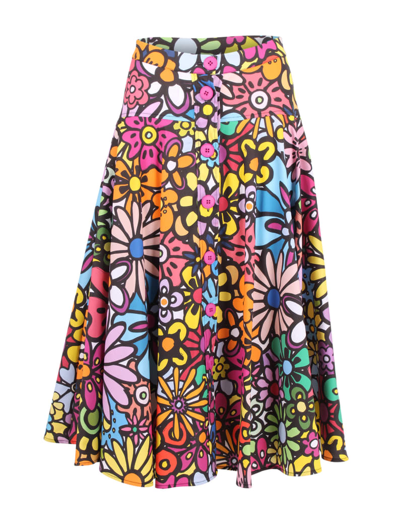 Ultrachic Cotton Skirt - Flower Power
