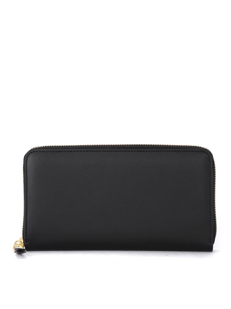 Comme des Garçons Wallet Comme Des Garçons Black Leather Wallet - NERO
